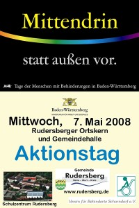 Mittendrin Plakat 2008