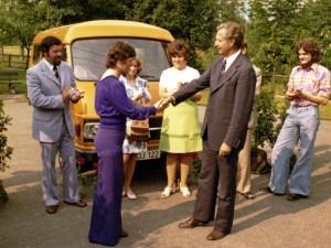 1. Vereinsauto vom Lionsclub 1973