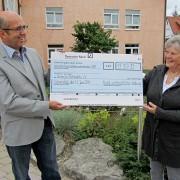 Spende von Bühler Stiftung 2011